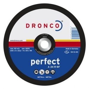 China Cutting Dronco Abrasive Disc for Metal, Free Hand on sale