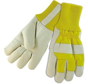 China Leather Working Gloves Fleece Lining Winter Gloves on sale