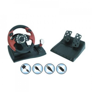 China Game Accessories PS3/PS2/PC Steering Wheel(JTP3-W02) on sale