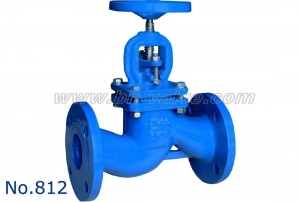 China Globe Valve 812.DIN CAST IRON GLOBE VALVE PN16 on sale