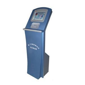 China Free Standing kiosk Touch Screen self-service Kiosk With RFID Card Reader on sale