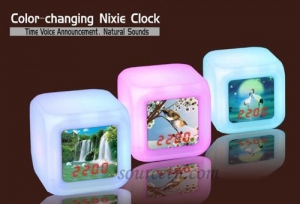 China Clock & Watch Color-changing clock on sale