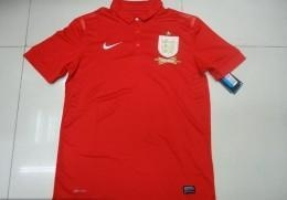 China 2013/2014 soccer jersey England jersey on sale