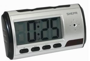 China Clock Camera Mini desk clock Digital Clock Video Camera Alarm Clock on sale