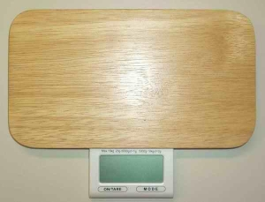 China Scale Digital touch bamboo food scale on sale