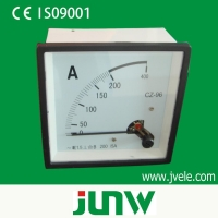 China Meter Series 96*96 mounted analog meter voltmeter on sale