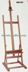 China pine wood easel drawing stand on sale
