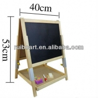 China wooden standing easel ,kids drawing easel on sale