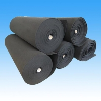 Activated carbon filter roll