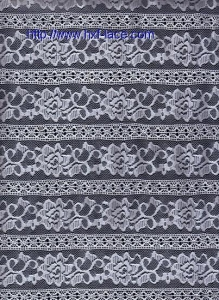 China Spandex/nylon lace fabric on sale