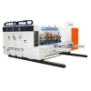 China ENGLISH YKM1250 automatic printing slotting die-cutting machine for sale