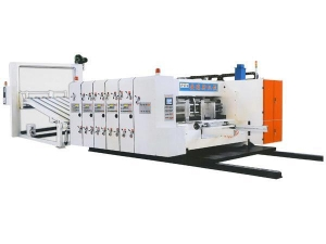 Quality ENGLISH SKYM950/SKYM4212 high-speed ink printing slotting die-cutting machine for sale