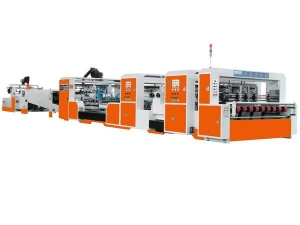 China ASG series of high-speed automatic gluer supplier