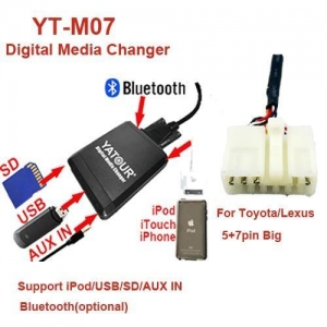 China Yatour YT-M07 Digital Media Changer for Toyota/Lexus 5+7pin(YT-M07-TOY1) on sale