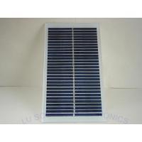 Solar Panel 15V 1W Solar Panel POLYCRYSTAL Tempered Glass Sealed