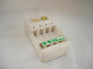 China Solar Power Solar Battery Charger for 4X AA/AAA Batteries---1W on sale