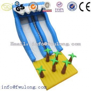 China Inflatable Slides Cheap Inflatable Slides FLSL-003 on sale