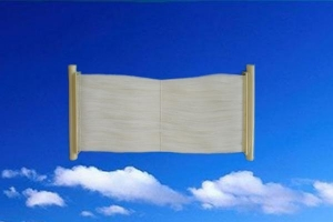China KH-MBR-8-PP Curtain hollow fiber membrane module (MBR membrane) on sale