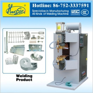 China AC Spot Welder Series HWASHI WL-SP-75K Hot Sale Spot Welding Machine on sale