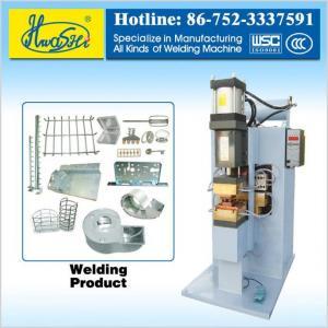 China AC Spot Welder Series HWASHI WL-P-60K Customized AC Pneumatic Spot Welding Machine on sale