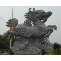 Stone-bronze tripod carpenter Stone unicorn JX-002