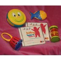 babyboomboom Baby band bag - two CDs