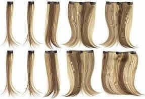 China Synthetic Hair Extensions Clip In Synthetic Hair Extension on sale