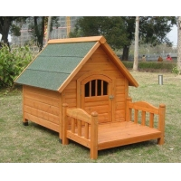 WOOD KENNEL Item No:DGH9002AWooden Dog House
