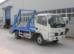 China Dump truck Dongfeng swing arm 5cbm on sale