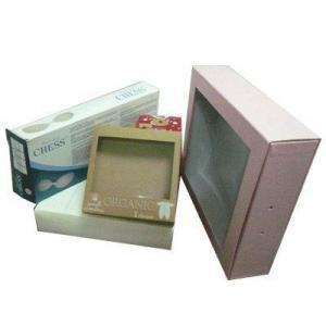 China Apparel Box Paper Underwear Box on sale