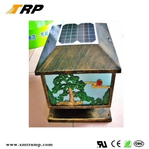 China solar lawn light Newest outdoor classical solar table lamp on sale