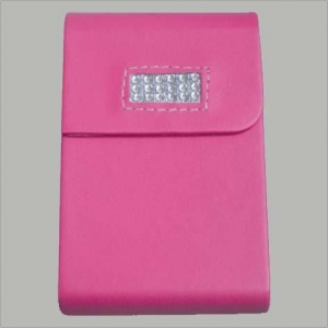 China Other Series PU Leather Name Card Holder on sale