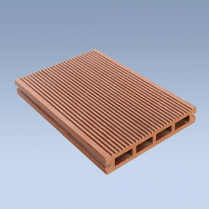 China WPC Decking Floor Hollow outdoor WPC deck on sale