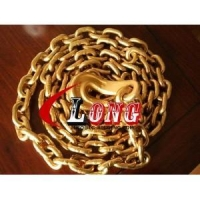 G70 Transport chain Lashing Chain -Tie Down Chains With Eye Bend Hook-China Manufacturer