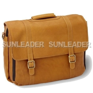 China 102217-2014 new design leather laptop briefcase messenger bag on sale