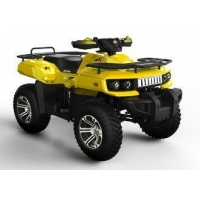 400cc 4 Wheel ATV Quad Bike / Utility Quads For Beach , Wheel Bases 1250mm