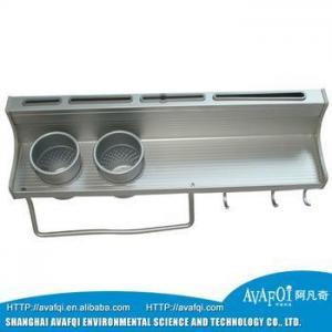 China Kitchen Organizers 4 Tiers Stainless Steel Kitchen Storage Rack/Corner Rack on sale