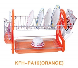 China Dish Rack JP-T92 Kitchen Dish Cup Drying Rack Drainer Dryer Tray Cutle.. on sale