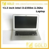 China Laptop computer 13.3 inch intel i3 laptop for sale
