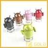China USB TF Android Robot Speaker for Latop Tablet PC Mp3 for sale