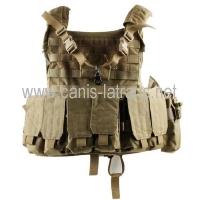 China Vests MOLLE tactical bulletproof military assault gear vest CL4-0029Tan on sale