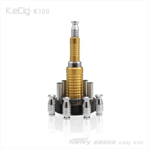 China K100 electronic cigarette updated mod newest vv mod ecig hot sellling products on sale