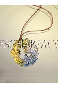 China Accessories Chinese Dragon Coloured Glaze Pendant on sale