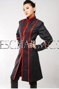 China Chinese Wedding Dress Chinese Wool Winter Coat on sale