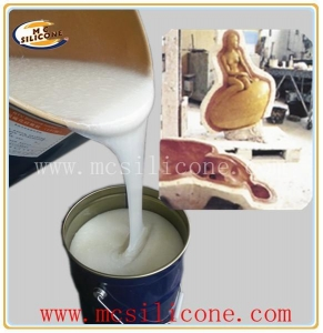 China RTV-2 Condensation Cure Silicone Rubber Sculpture Mold Making Silicone Rubber on sale
