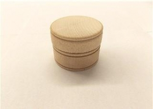 China Boxes, Wood 2-1/4 Large Trinket Box with Lid on sale