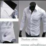 China Casual fashion shirts men slim fit shirts,hot sale mens shirts on sale
