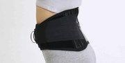 China 81009 - Self heat tourmaline magnetic waist lumbar brace (BLACK) on sale