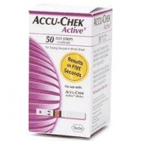 Blood Glucose Meters Accu-Chek Active Blood Glucose Test Strips -25 or 50 Units Pack