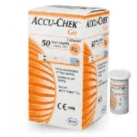 Blood Glucose Meters Accu-Chek Go Blood Glucose Test Strips - 25 or 50 Units Pack